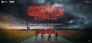 """Spotify e Netflix Transportam os Fãs de Stranger Things para o """"Mundo Invertido"""" com Experiência Imersiva"""