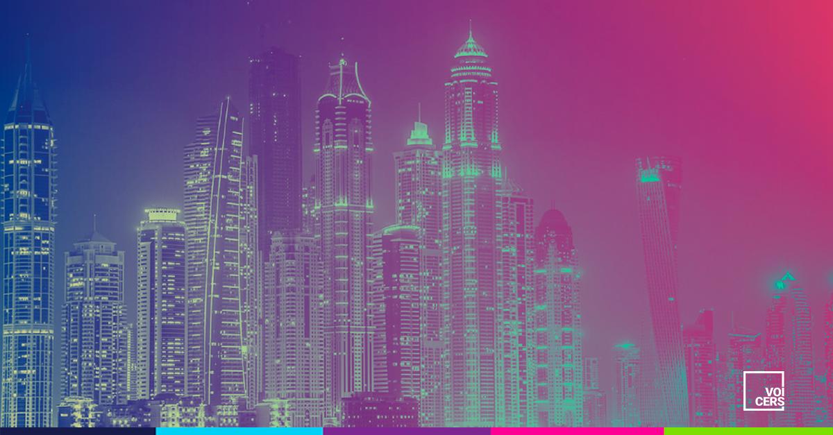 Uma Mega Cidade no Meio do Oriente Médio