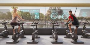 Academia Flutuante Movida a Energia Humana