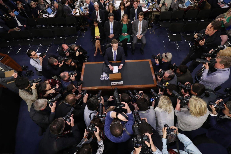 Durante Depoimento de Mark Zuckerberg Congresso Propõe Legislação Para LimitarFacebook & Cia