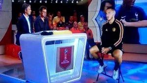 Após Eliminação Craque da Seleção Belga Da Entrevista em Holograma