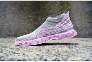 Sapatos Produzido com Algas Marinhas