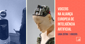 Voicers na Aliança Europeia de Inteligência Artificial