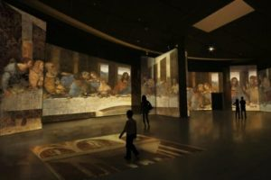 Leonardo Da Vinci é Tema de Exposição Imersiva em São Paulo