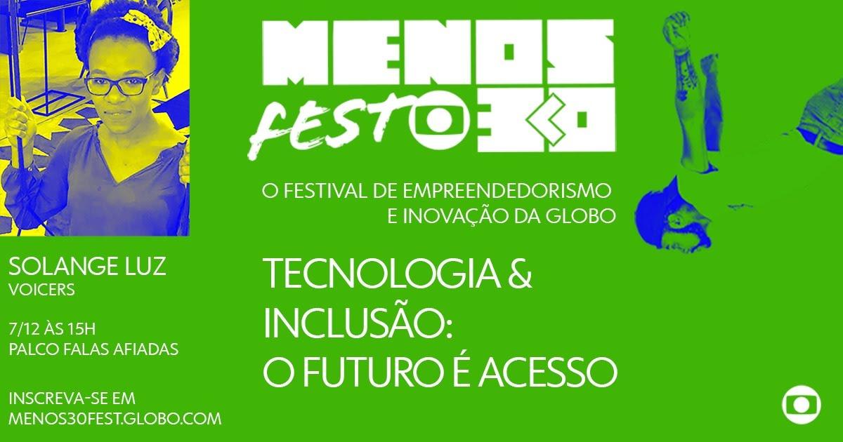 Voicers no Menos30 Fest 2019