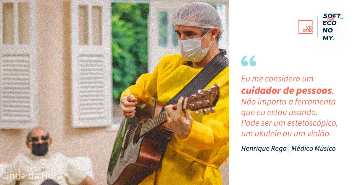 Sobre Soft Economy & a Economia do Cuidado: Médico usa música como forma de cuidado para pacientes com Covid 💙