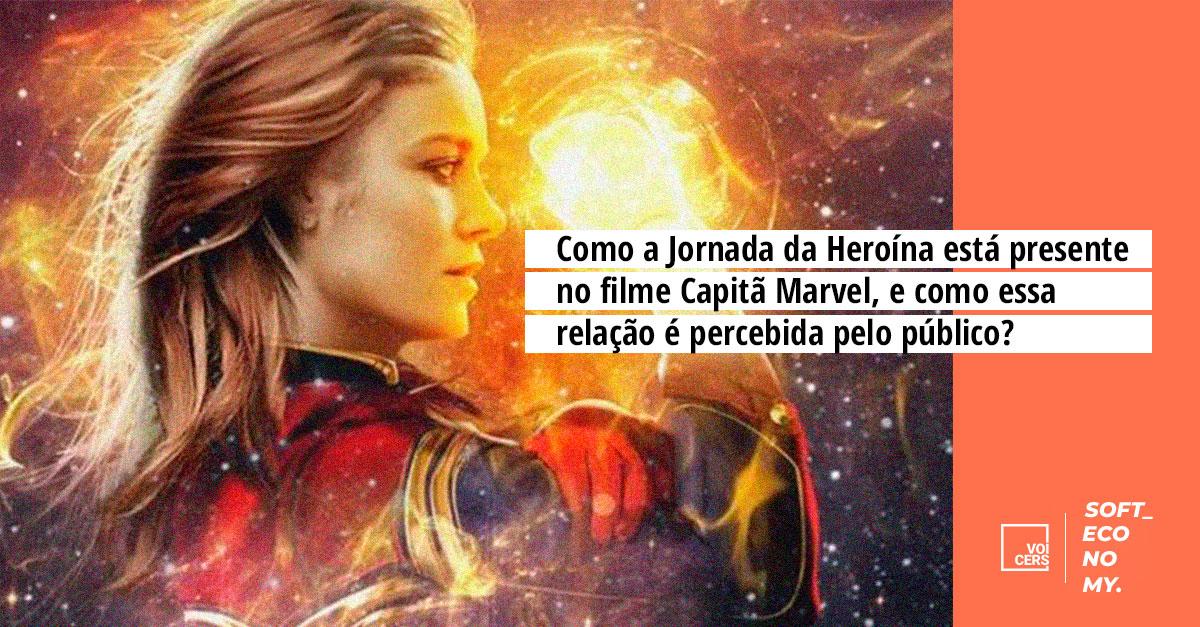A Jornada da Heroína em Capitã Marvel