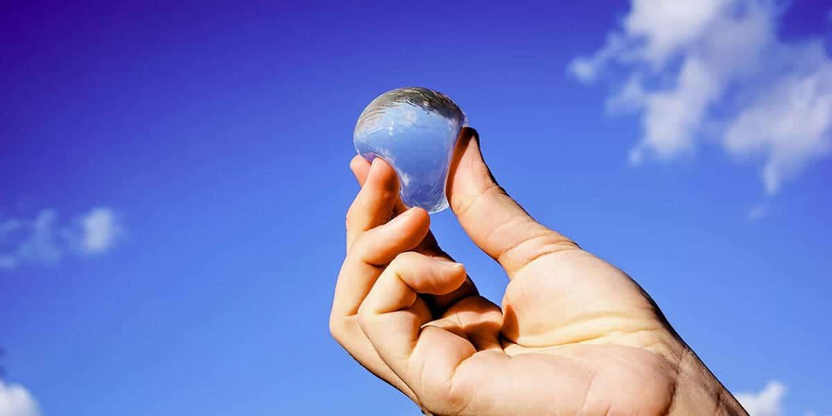 Bolhas de Água Comestíveis   Tecnologia a Favor da Sustentabilidade!