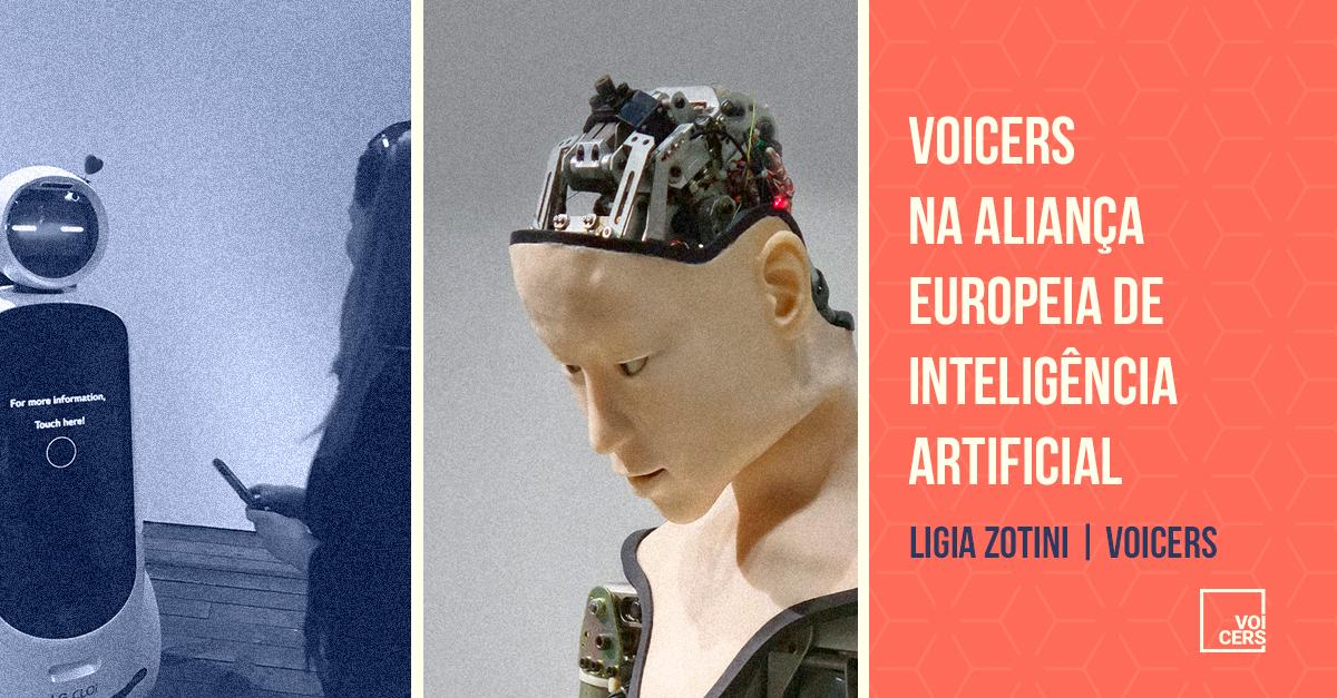Voicers na Aliança Europeia de Inteligência Artificial