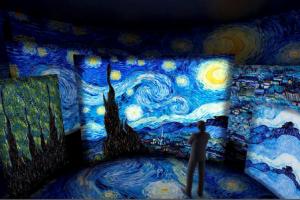 Exposição Imersiva nas Paisagens de Van Gogh em São Paulo