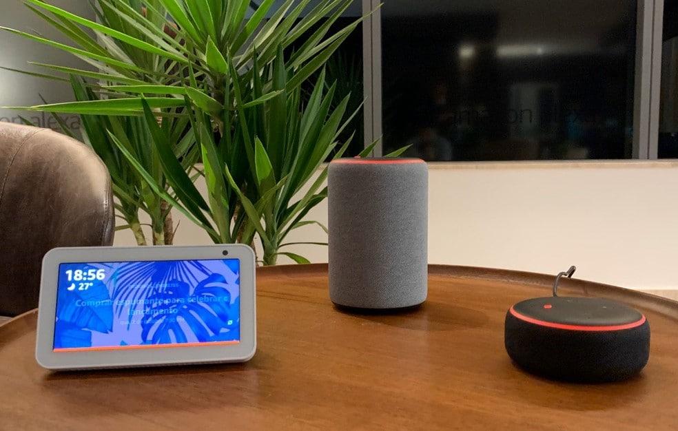 Amazon lança Alexa e dispositivos Echo no Brasil