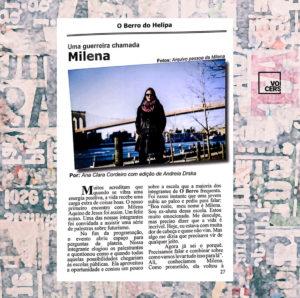 O Berro do Helipa: Milena Aquino, a força por trás do Voicers
