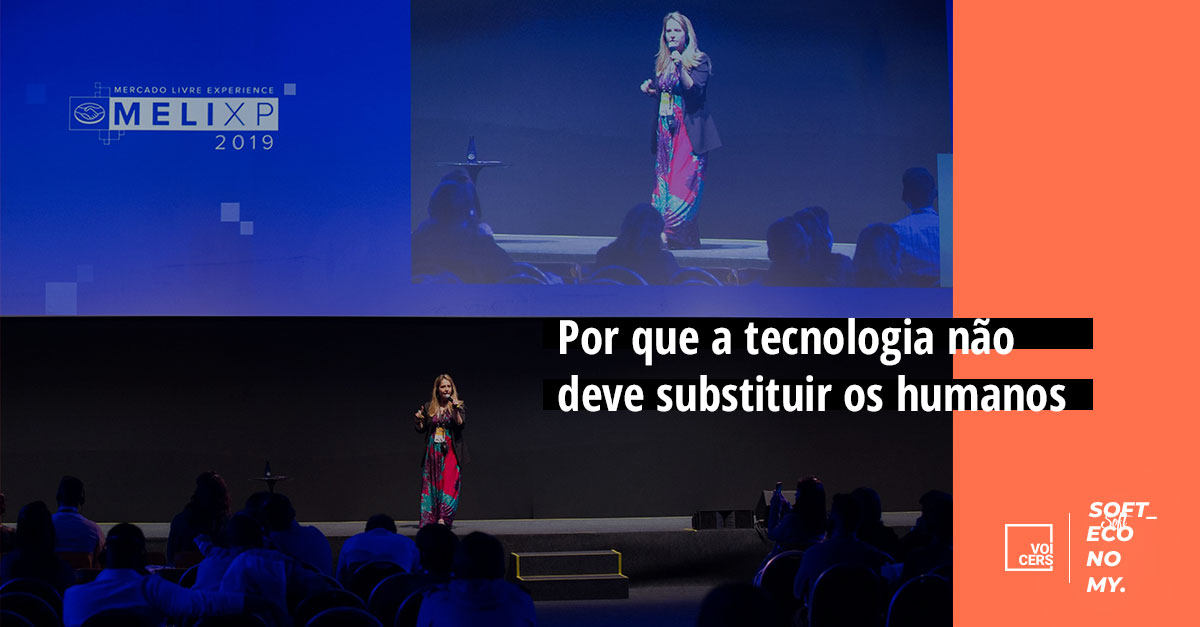 Por que a tecnologia não deve substituir os humanos