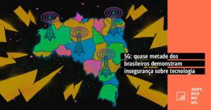 5G: quase metade dos brasileiros demonstra insegurança sobre tecnologia
