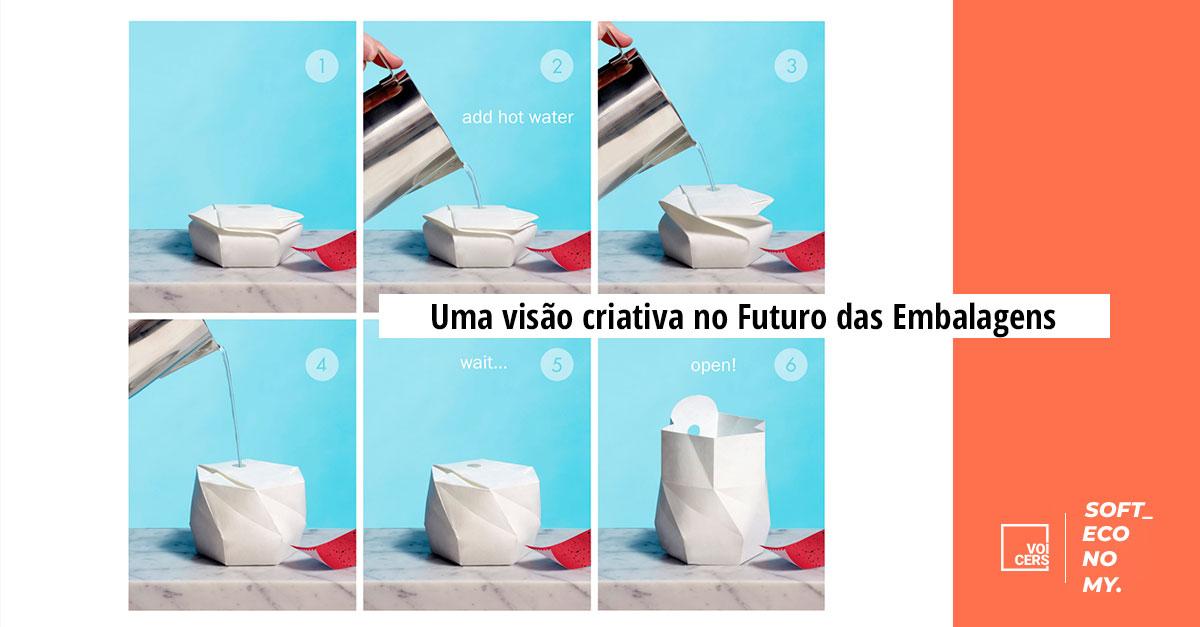 Uma visão criativa no Futuro das Embalagens